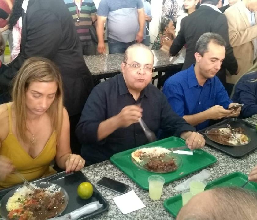Flávia Arruda, Ibaneis Rocha, Dedé Roriz e Celina Leão