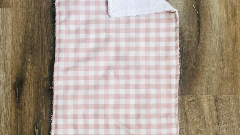 Check Burping Cloth (Select to see range)