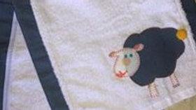Sheep Burp Cloth