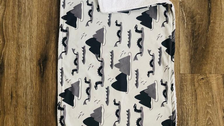 Mountain Burping Cloth