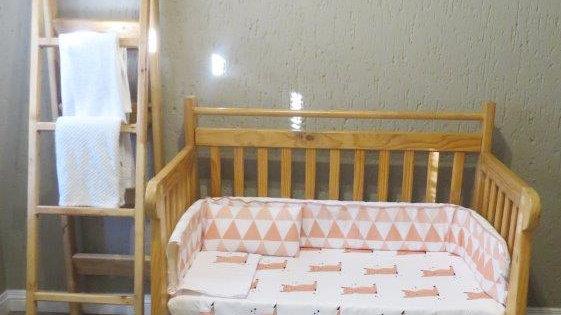 Pink Fox Bedding set