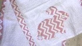 Bunny Burp Cloth