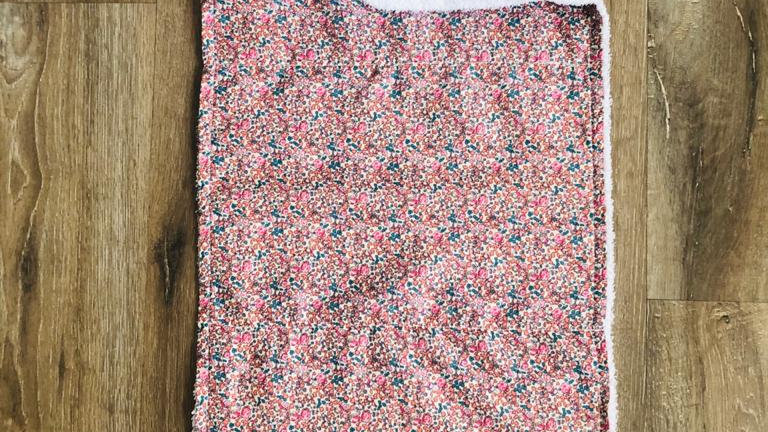 Floral Burping Cloth
