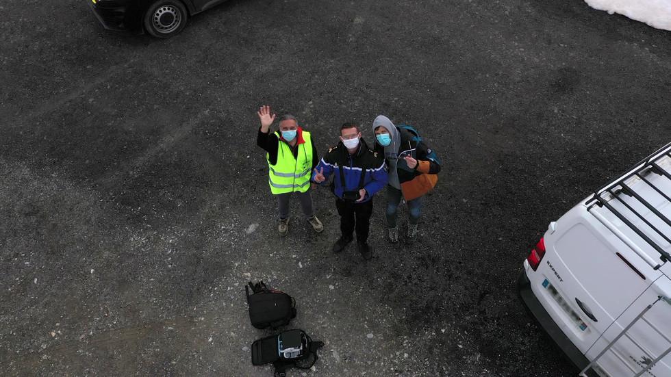 Formation de gendarmes - Dronespace Laurent Courier