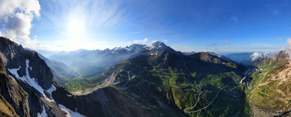 Panorama Espade Tourmalet La Mongie - Dronespace