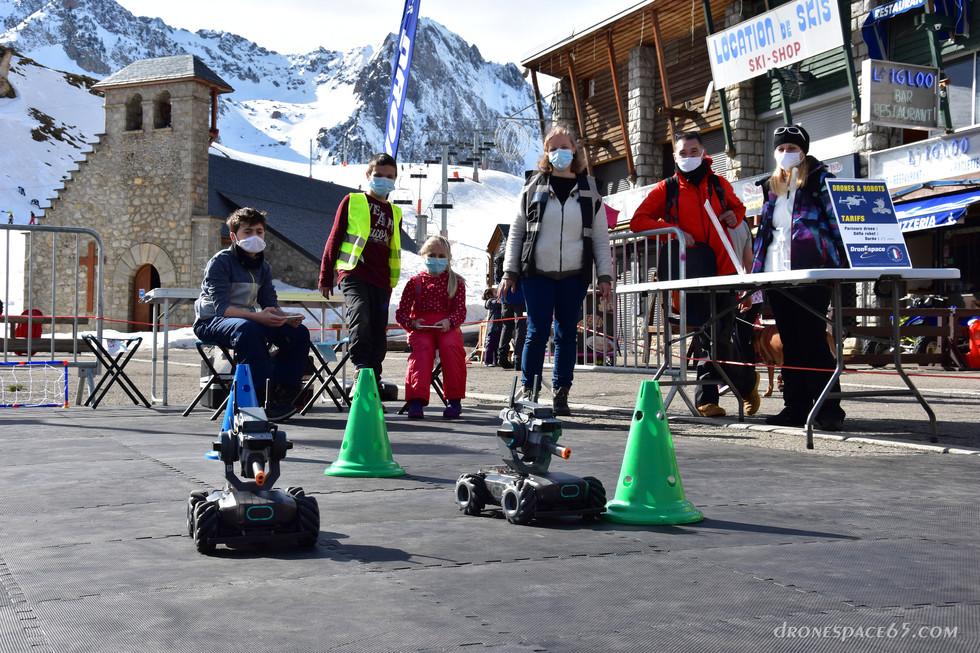 Robots à La Mongie - Dronespace 3