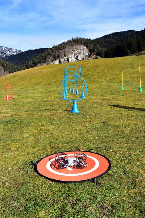 Parcours de drones - Payolle - Dronespace