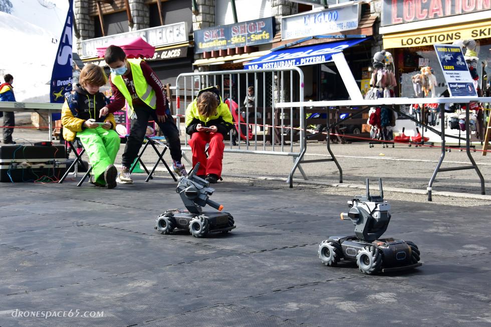 Robots à La Mongie - Dronespace 4