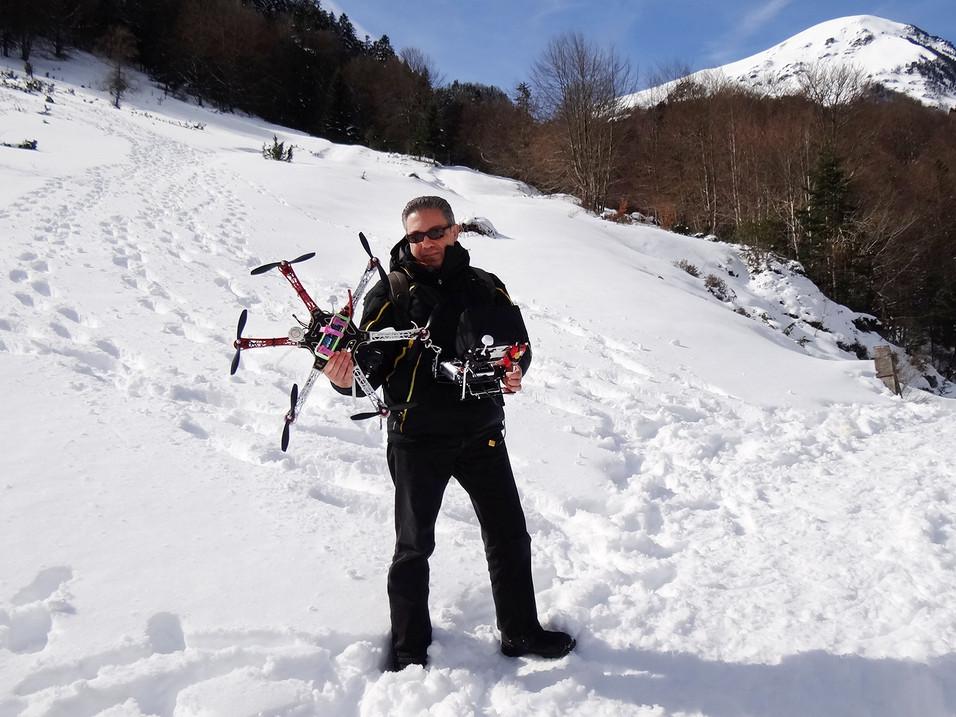 Drone DJI-F550 - Laurent Courier
