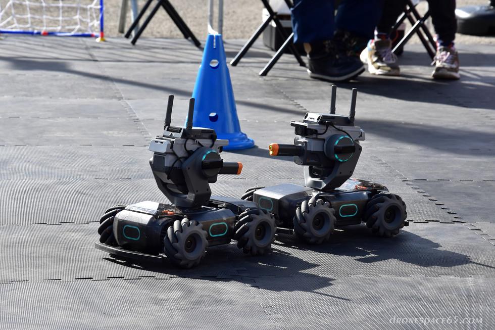 Robots à La Mongie - Dronespace