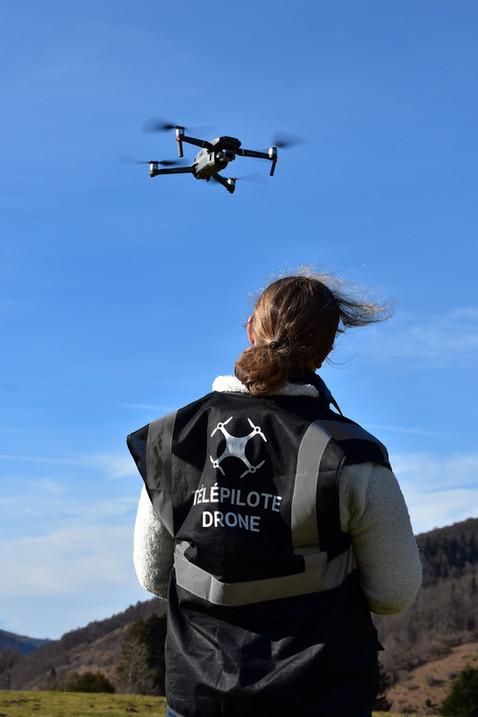 Télépilote de drone - dronespace