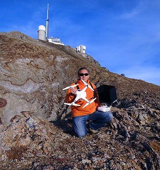 Laurent Courier - Drone au Pic du Midi