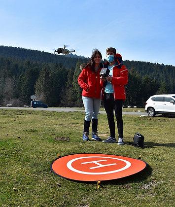 Séance de 2h - Pilotage de drones Adultes et enfants > 7 ans