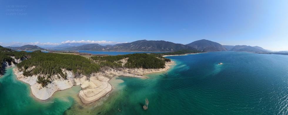 Lac de Mediano Aragon Dronespace Laurent Courier