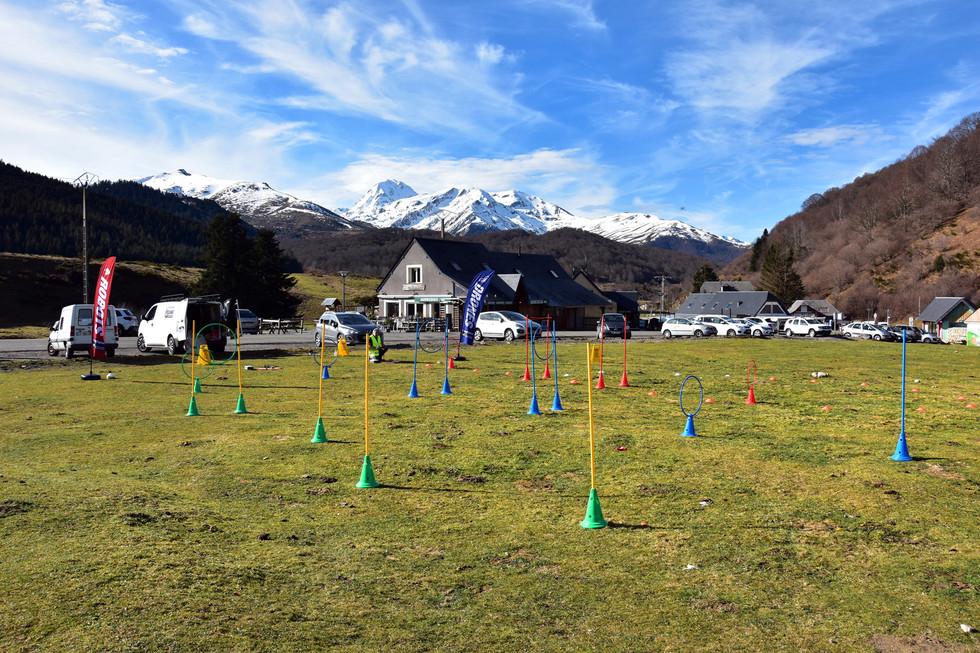 Parcours de drones à Payolle - Dronespace