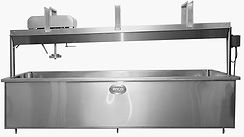 ANCO CHEESE VAT WITH TRAVELING AGITATION