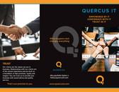 Quercus IT Tri Fold Brochure