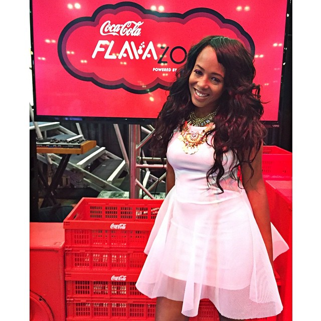 Hey guys!!! Just got to the BET Experience!! Come hang out with us at the _CocaCola Flava Zone booth