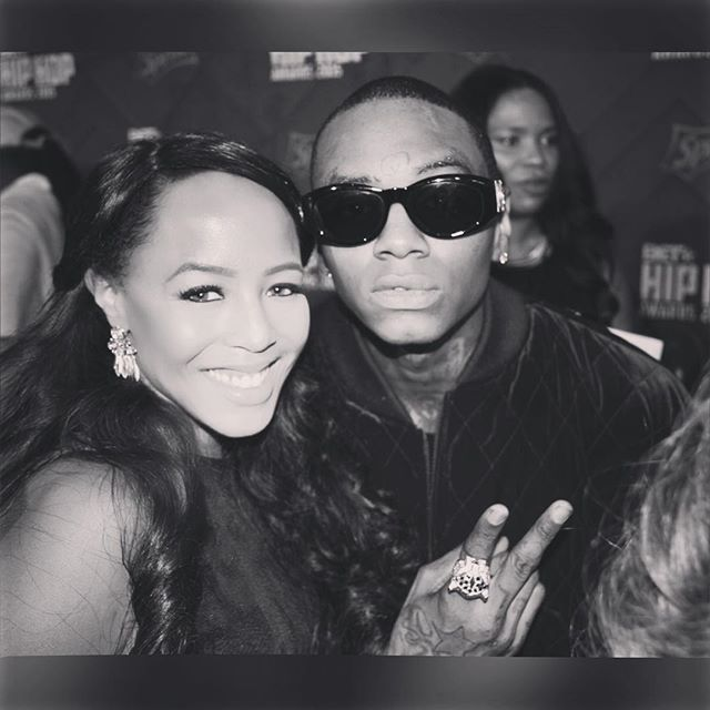 Still a huge fan SOULJA BOY x DEMI LOBO #BETHipHopAwards2015 _souljaboy 📷 _derricknthecity