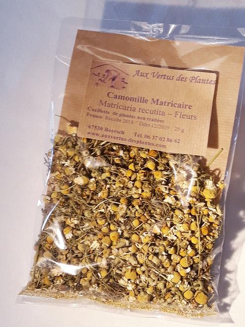 Plante Camomille matricaire (Matricaria recutita) 25 g