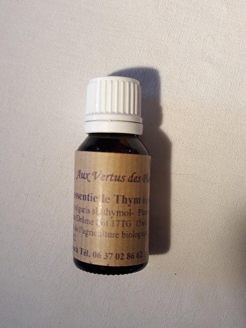 Huile essentielle Thym à thymol 15 ml