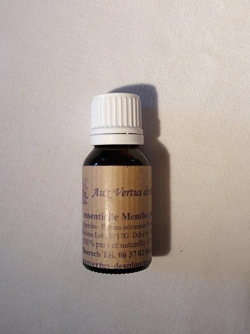 Huile essentielle Menthe poivrée 15 ml