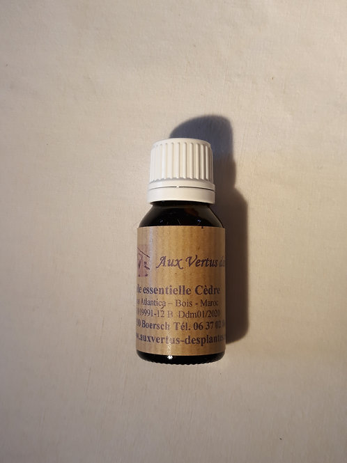 Huile essentielle Cèdre 15 ml