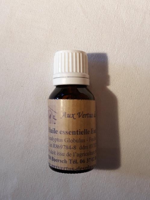 Huile essentielle Eucalyptus Globulus 15 ml