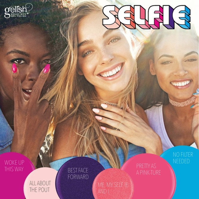 Gelish SELFIE collection!