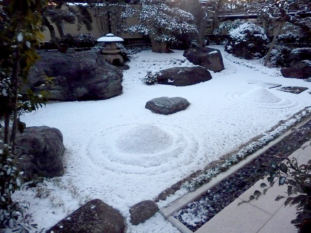 枯山水の庭6