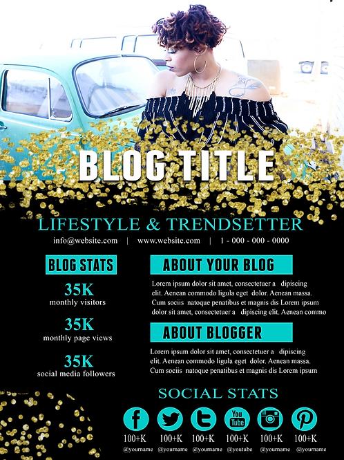 Blogger Social Media Page