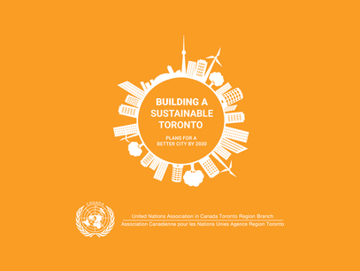 UNACTO hosts 'Building a Sustainable Toronto: Plans for a Better City by 2030'