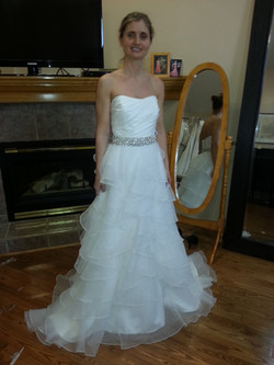 WEDDING DRESS ALTERATION