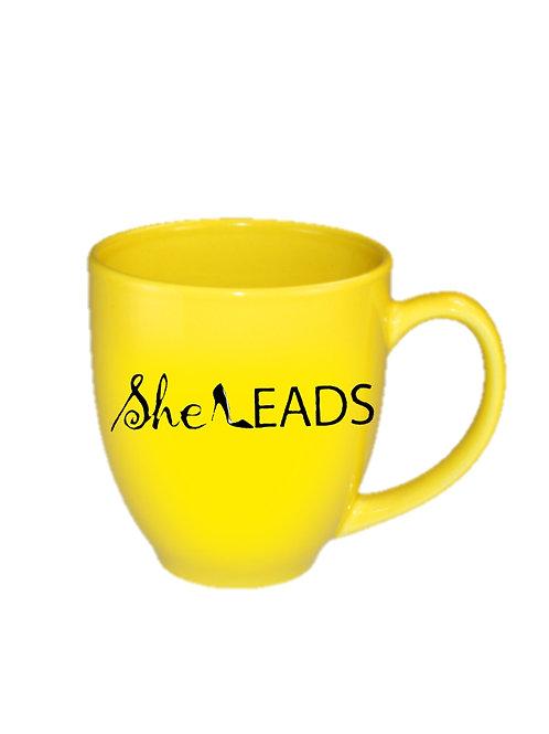 She Leads Coffee Mug