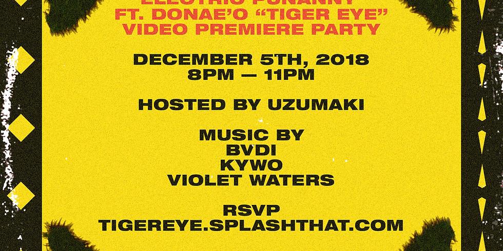 Tiger Eye Video Release