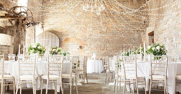 Modern yet Rustic Wedding Venue