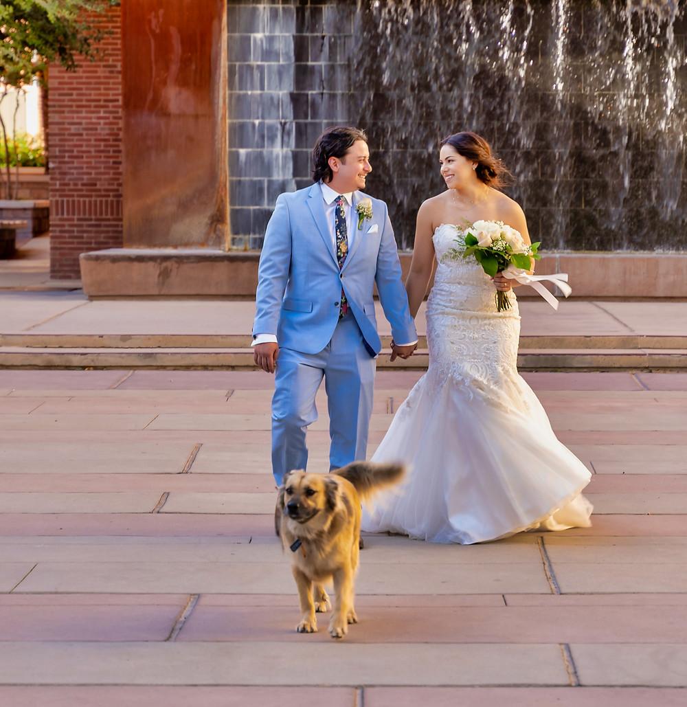 Alcantar Sky Garden Wedding El Paso, TX