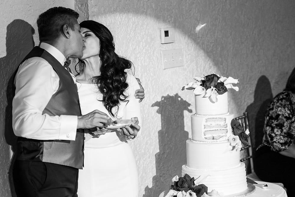 Wedding Cake Cutting El Paso Wedding