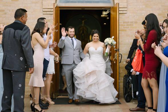 Las Cruces Wedding Bubble Exit