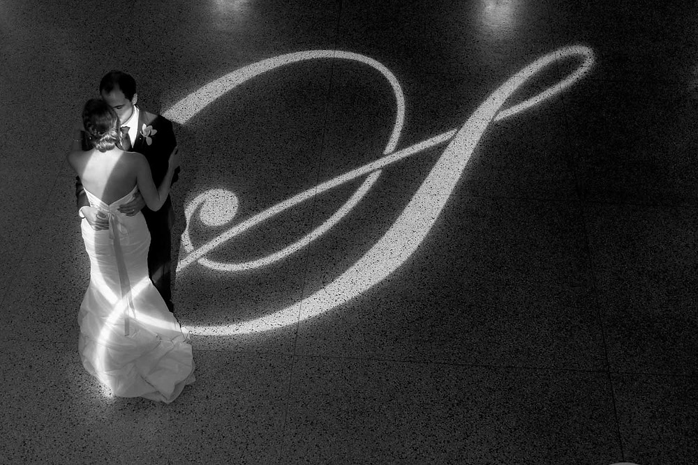 Artistic Bride and Groom Dance