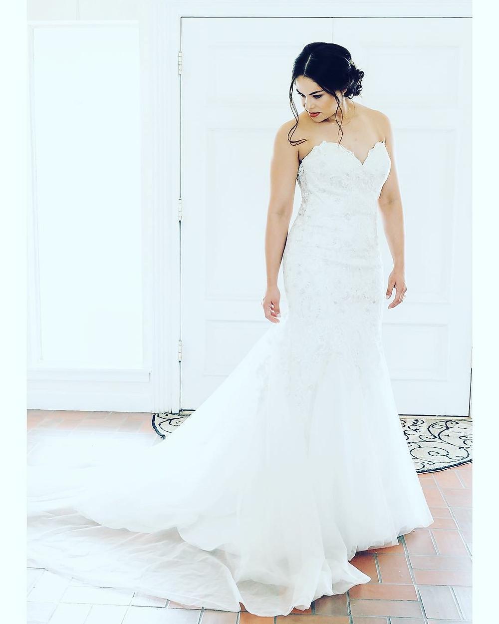 El Paso Wedding Benay in Wedding Dress