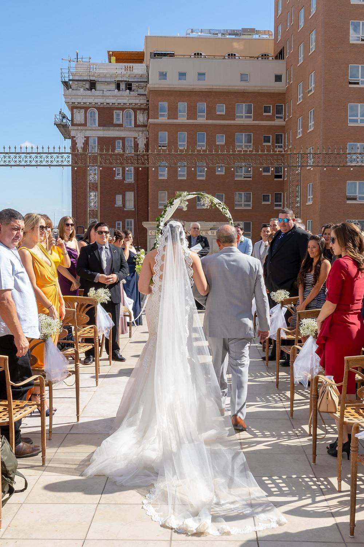Wedding at Alcantar Sky Garden El Paso