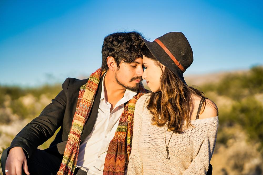 El Paso Engagement Photography Desert Session
