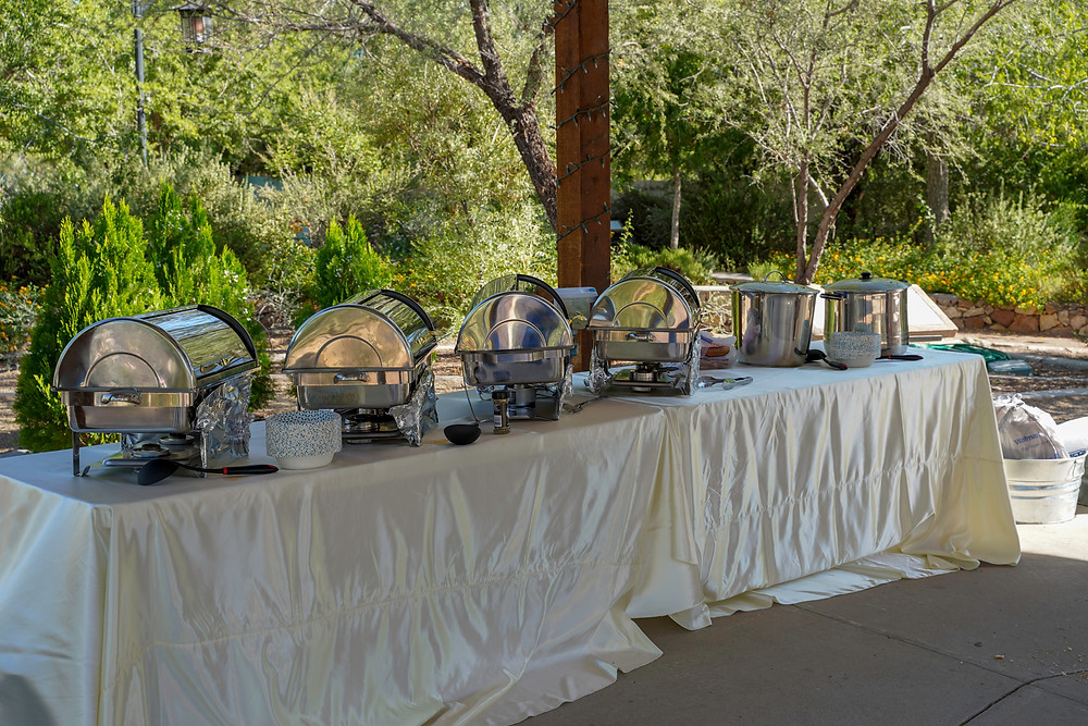 Catering for Wedding at Keystone Heritage Park