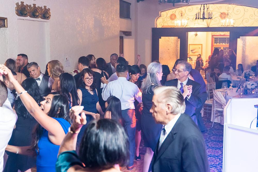 Dancing at The Cortez Ballroom