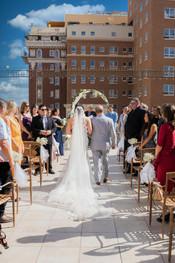 Alcantar El Paso Rooftop Wedding