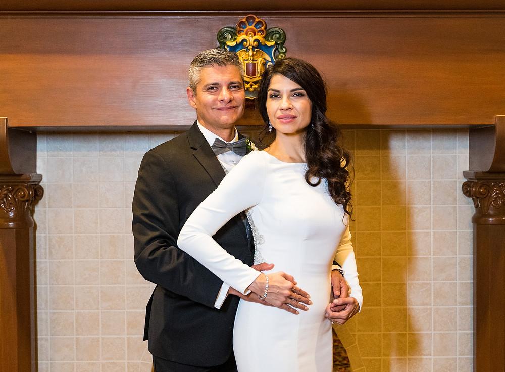 Enrique and Valeria El Paso Wedding Photograph