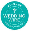 As Seen On WeddingWire Badge