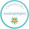 As Seen On Two Bright Lights Badge