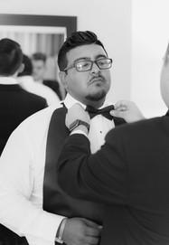 Groomsman Getting Ready El Paso Wedding